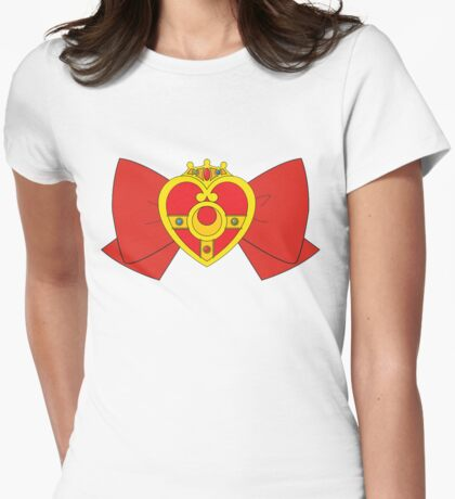 Super Sailor Moon Womens Fitted T-Shirt