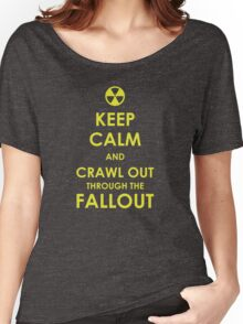 Crawl Out Through The Fallout Women's Relaxed Fit T-Shirt