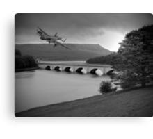 Lancaster Over Ladybower Canvas Print