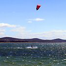 Kite surfer  by Alastair Creswell