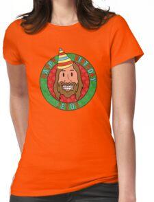 Happy Birthday Jesus Womens Fitted T-Shirt