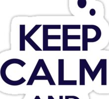 Princess Luna - Keep Calm and Double The Fun Sticker