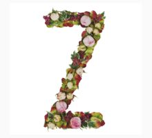 Capital Letter Z Part of a set of letters, Numbers and symbols Kids Tee