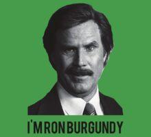 Hi! I'm Ron Burgundy One Piece - Short Sleeve