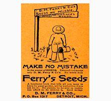 Vintage Detroit D.M. Ferry Company Ad Unisex T-Shirt