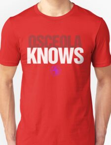 Discreetly Greek - Osceola Knows - Nike Parody T-Shirt