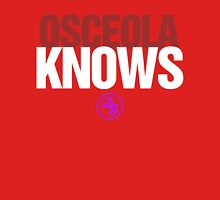 Discreetly Greek - Osceola Knows - Nike Parody Womens Fitted T-Shirt