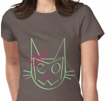 Mrs. Meow Womens Fitted T-Shirt
