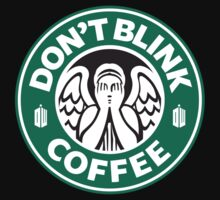 Don't blink Coffee by hunekune