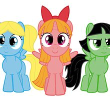 Powerpuff Ponies by Mary Wine