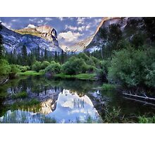 Mirror Lake - Yosemite National Park  Photographic Print
