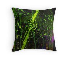 Glow Jar Throw Pillow
