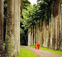 buddhist paradise by Brooke Reynolds