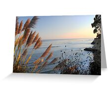 Capitola Sunset Greeting Card