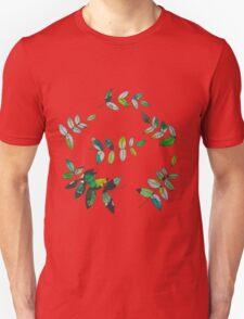 Watercolor Leaves Unisex T-Shirt