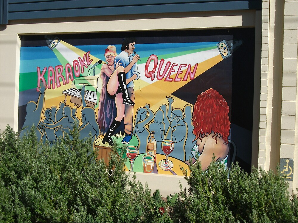 Broken Hill mural by Geoff De Main, a by Heather Dart