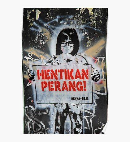 Street Art: global edition # 12 Poster