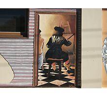 Broken Hill mural by Geoff De Main, c Photographic Print