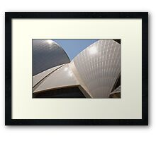 Opera House Up Close Framed Print