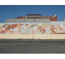 Broken Hill mural at Demo Club car park Photographic Print