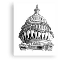 Angry Washington Metal Print