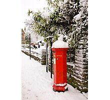 English Post box Photographic Print