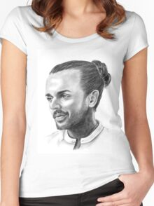 TOWIE's Pete Wicks Women's Fitted Scoop T-Shirt