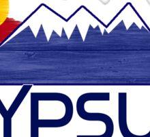 Gypsum Colorado wood mountains Sticker