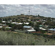 Broken Hill, view from Thomas St hill  Photographic Print