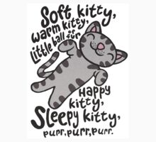 Soft Kitty Warm Kitty - Big Bang Theory by ConceptJohnny