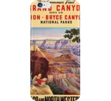 Vintage poster - Grand Canyon iPhone Case/Skin