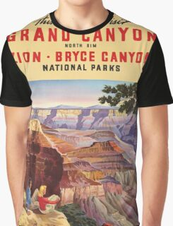 Vintage poster - Grand Canyon Graphic T-Shirt