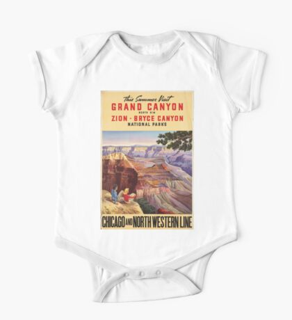 Vintage poster - Grand Canyon One Piece - Short Sleeve