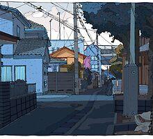 Crooked street by David  Kennett