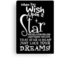 When You Wish Upon a Star Canvas Print