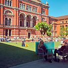 Springtime at the V&amp;A by Priscilla Turner