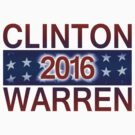 Clinton / Warren 2016 by portispolitics