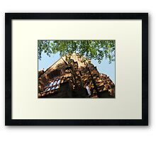 Shadow of Divinity Framed Print