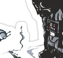 Darth Vader's Dog Sticker