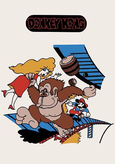 Donkey Kong by Studio Momo╰༼ ಠ益ಠ ༽