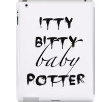 Itty Bitty Baby Potter iPad Case/Skin