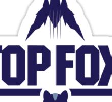Top fox Sticker
