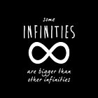 "The Fault In Our Stars / TFIOS by John Green - ""Some Infinities Are Bigger Than Other Infinities"" by runswithwolves"