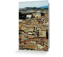 Italy – Siena Greeting Card
