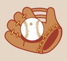 Baseball mit with a baseball star ball by jazzydevil