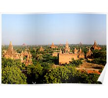 Bagan - Burma (Myanmar)  Poster