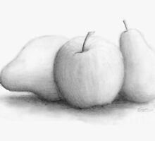 An Apple and Pears by Eric Fan