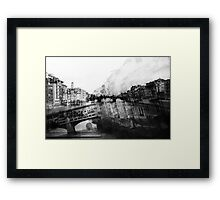 Italy – Ponte Vecchio Florence Framed Print