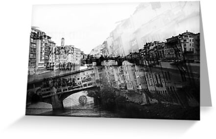 Italy – Ponte Vecchio Florence by whitmarshphoto