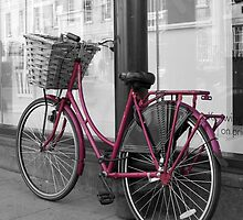 Pink Bicycle by Rachel Down